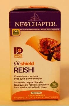 Image de Life shield Reishi - Newchapter - 48 capsules
