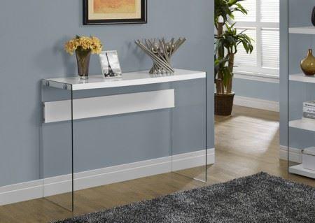 Table console en verre tremp centre d 39 achats en ligne ouvrez votre b - Table console en verre trempe ...