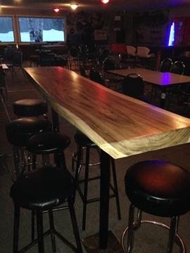 Image de Table bistro en acacia
