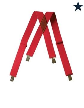 Image de Big Bill bretelle rouge 2 pouces