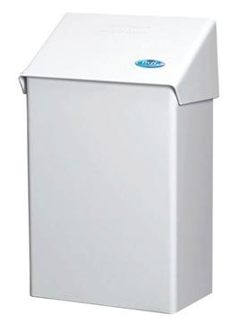 Image de Poubelle blanche FROST  pour serviette sanitaire