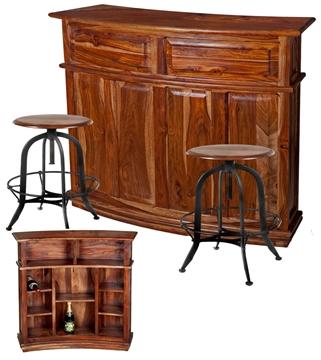 Image de Bar en bois de rose