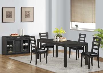 Image de Ensemble de salle à dîner 6 chaises