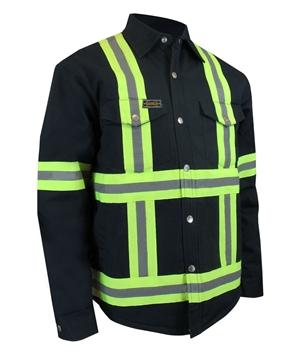 Image de chemise doublée avec bande réfléchissante Jackfield