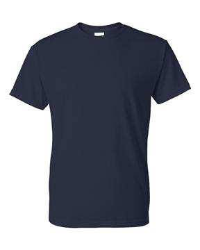 Image de t-shirt GIldan 8000 adulte bleu