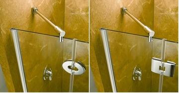 Fleurco Solo - Porte de douche à pivot