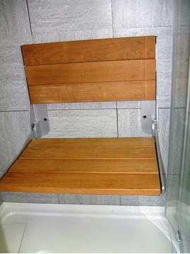 MOEN siège en bois rabattable DN7110