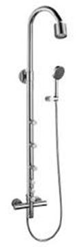 RUBI HADAL RHA3339 robinet douche externe avec body jets et tête pluie