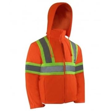 Image de manteau softshell avec bandes réfléchissantes Jackfield