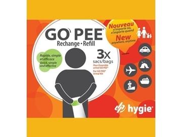 GO PEE - Rechange sac urinal