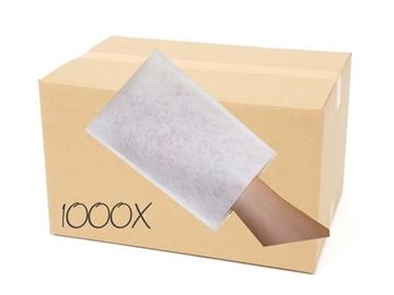 Caisse de gants de toilette jetable (1000 unités)