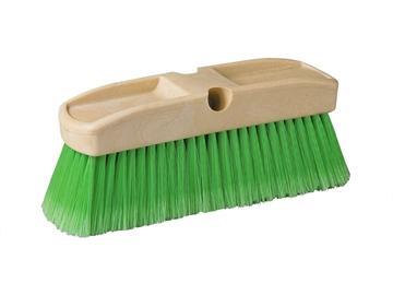 brosse de lavage verte