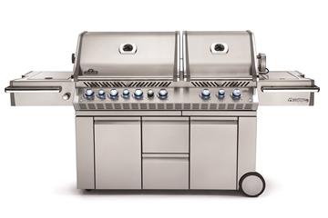 Prestige PRO 825 Avec Brûleurs Arrière Et Latérale Infrarouges