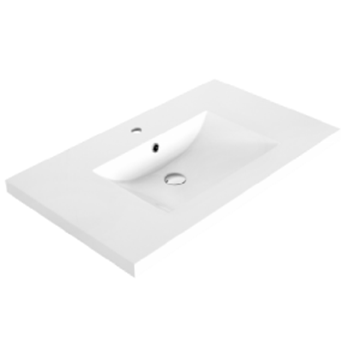 Luxo dessus de lavabo en marbre synthétique