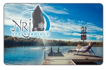 Image de 50% de rabais sur une carte cadeau de 50$ chez NRJ Spa Nordique