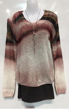 Garcia chandail en tricot manche longue