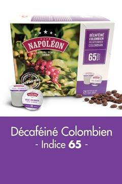 Décaféiné Colombien Boîte de 24 capsules