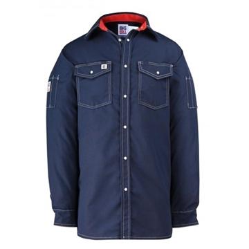 Image de 247RS chemise manche longue Big BIll à snap marine / bleu