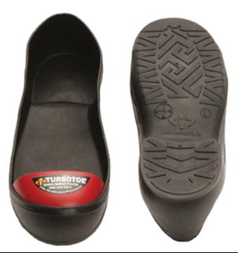 Image de Couvre chaussure embout d'acier TURBOTOE rouge