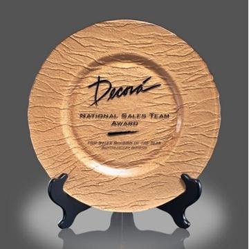 Trophée - Assiette - Deerfield Award/ Or