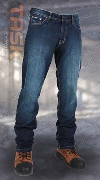 Image de Jeans doublé polar Task bleu