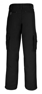 Image de Big Bill pantalon cargo en Ripstop noir