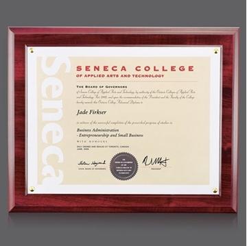 Plaque murale - Plaque murale - Walcourt Certificate Holder