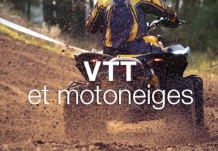 VTT et motoneiges
