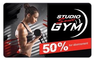 Image de Payer 104,99$ pour un abonnement de 210$ chez Studio Santé Gym