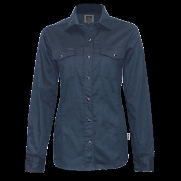 Image de chemise travail extensible PF430 marine