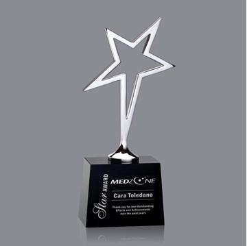 Trophée - Métal - Keynes Star