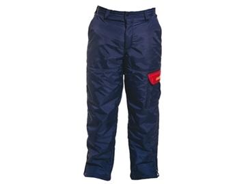 Image de pantalon scie à chaîne doublé bleu Kingtreads