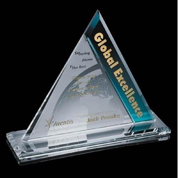 Trophée - Crystal - Astor Bleu