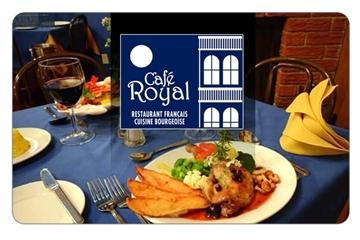 Rabais de 50% au Café Royal de Saint-Georges