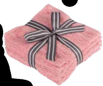 Image de debarbouillettes rose à motif de brique