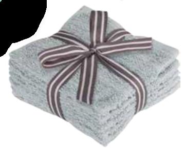 Image de Débarbouillettes gris à motif de briques