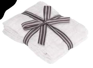 Image de Serviette à main blanc à motif de briques