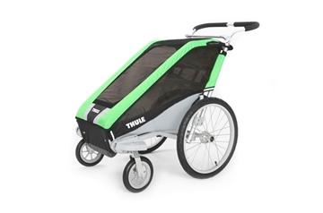 Remorque de vélo pour enfant Thule Cheetah 1 vert