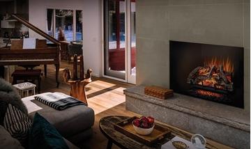 Foyers - Électriques encastrés - Bûches électriques - Napoléon - Wooland 27