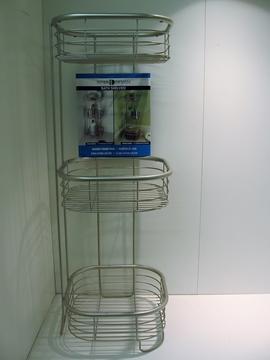 INTERDESIGN  étagère de rangement pour douche
