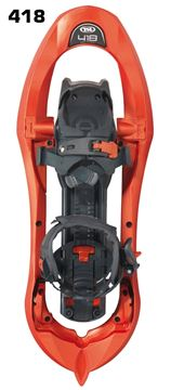 Raquettes de course Composite TSL 418 Up&Down Grip orange