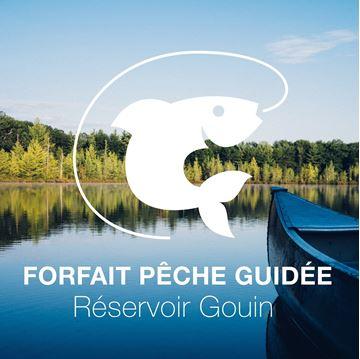 Forfait de pêche pour 4 personnes au Réservoir Gouin