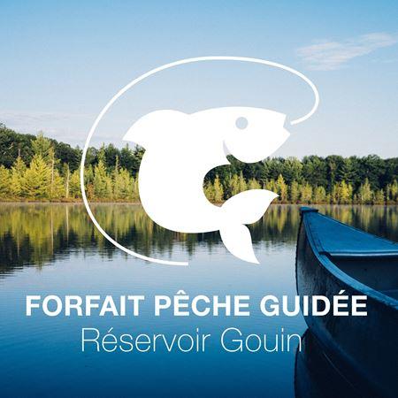 Image de Forfait pêche guidée au Réservoir Gouin (mai/juin) pour 4 à 6 personnes