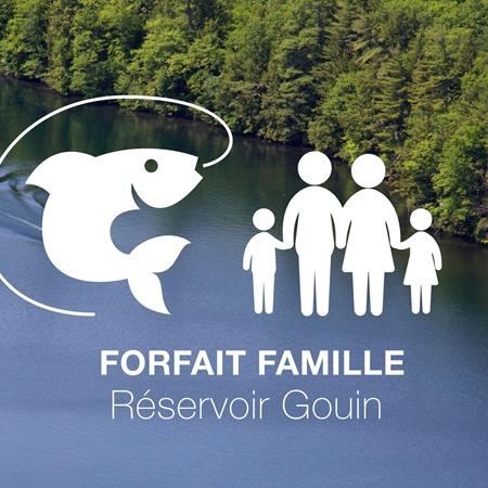 Image de Forfait famille 6 jours au Réservoir Gouin (Juillet/Août)