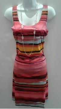 Image de Tango Mango robe courte colorée