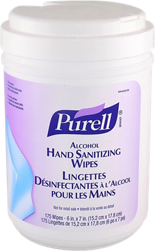 Image de Purell lingettes désinfectantes pour les mains