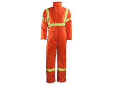 Image de Couvre-tout doublé orange haute visibilité Kingteads- 40204 bande 2 pouces - discontinué