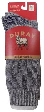 Image de Bas de laine gris Mérino pour homme