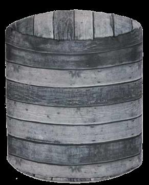 Repsoe pied imitation bois gris
