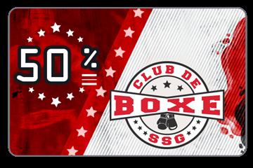 Payer 150$ pour un abonnement de 300$ chez Club de Boxe SSG